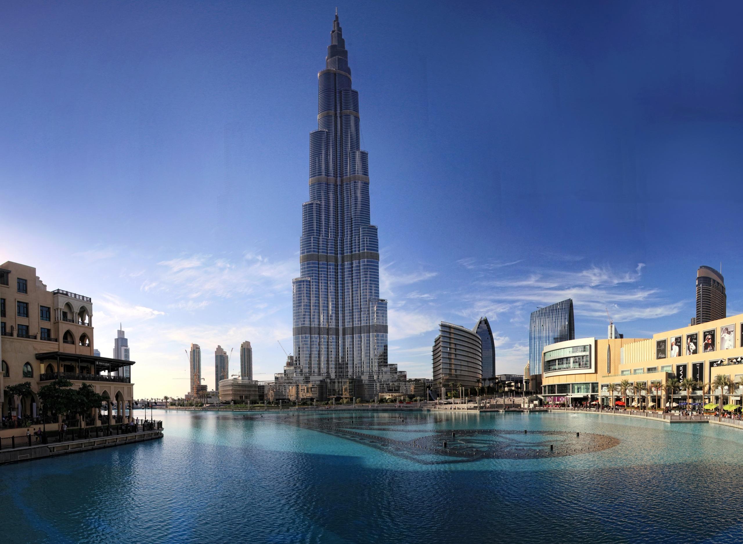 страны архитектура море Объединенные Арабские Эмираты бесплатно